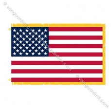 Annin® United States Flag - 3 by 5 foot with fringe