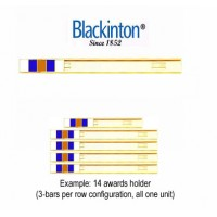 "Blackinton® 3/8"" Size Cab-Slide Holder (3-per row)"
