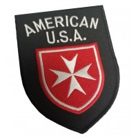 AMERICAN U.S.A. Order of Malta Shoulder Patch