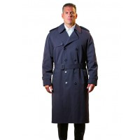 Anchor Uniform® Men's Darien Double Breasted Trench Coat (USA MADE)