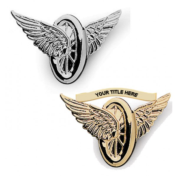 Blackinton® Motorcycle Wings Insignia
