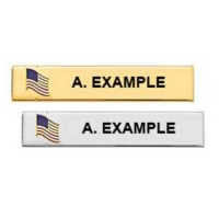 Blackinton® J3S Custom Flag Seal Nameplate