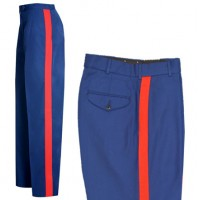 Flying Cross® USMC Dress Blue Pants 55/45 Poly/Wool