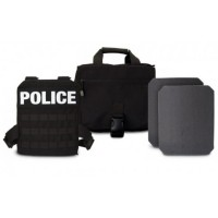 GH Armor® Active Shooter Kit (NIJ 06) - Level III Plates 10 x 12