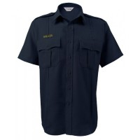 LION® BRAVO™ 5.8oz Tecasafe® PLUS - SHORT SLEEVE - 7 BUTTON FRONT