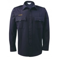 LION® BRAVO™ 5.8oz Tecasafe® PLUS - LONG SLEEVE - 7 BUTTON FRONT