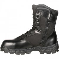 "Rocky® 8"" Men's AlphaForce Boot SIDE ZIPPER"