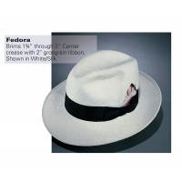 Stratton® Fedora Dress Hat (Silk)