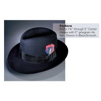 Stratton® Fedora Dress Hat (Smooth)