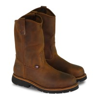 Thorogood® AMERICAN HERITAGE – 11″ TRAIL CRAZYHORSE SAFETY TOE – PULL-ON WELLINGTON MAXWEAR90™