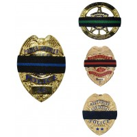 Shirt Lock® Mourning Band for Badge  (6 PACK)