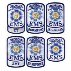 Georgia EMS Shoulder Patches