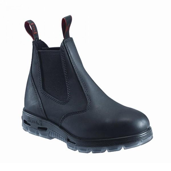 182fa98466e RedBack® Easy Escape™ Slip-On Black Leather (Composite Toe)